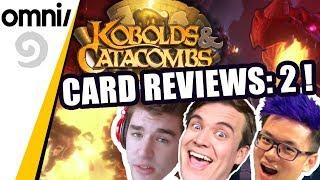 Kobolds & Catacombs Card Reviews: 2 w/ Kibler, Firebat & Frodan