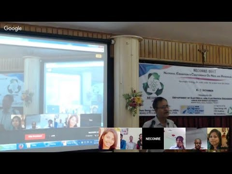 NECONRE-2017: Online Presentation Session_Live Recording