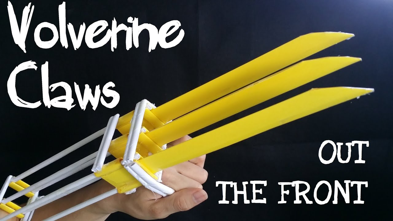 How To Make Paper Wolverine Claws That Work
