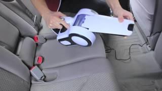 80watt 12-volt Cyclonic-action Automotive Dust Buster Handheld Vacuum Cleaner