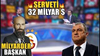 Galatasaraya Milyarder Başkan  Yeni Başkan Geliyor  Diagne İngiltereye l GALATASARAY