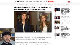 "Two Girls Face JAIL Over Refusal To Make ""Same-Sex"" Art"
