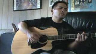 "Hoobastank ""Crawling In The Dark"" (Mellow Acoustic Cover)"
