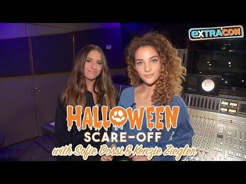 Halloween Scare-off with Sofie Dossi & Kenzie Ziegler