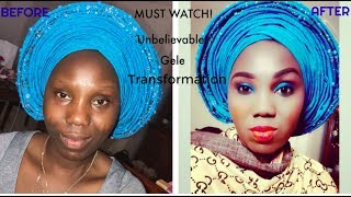 2018 Gele makeover ( must watch) | ABIANDBABYY