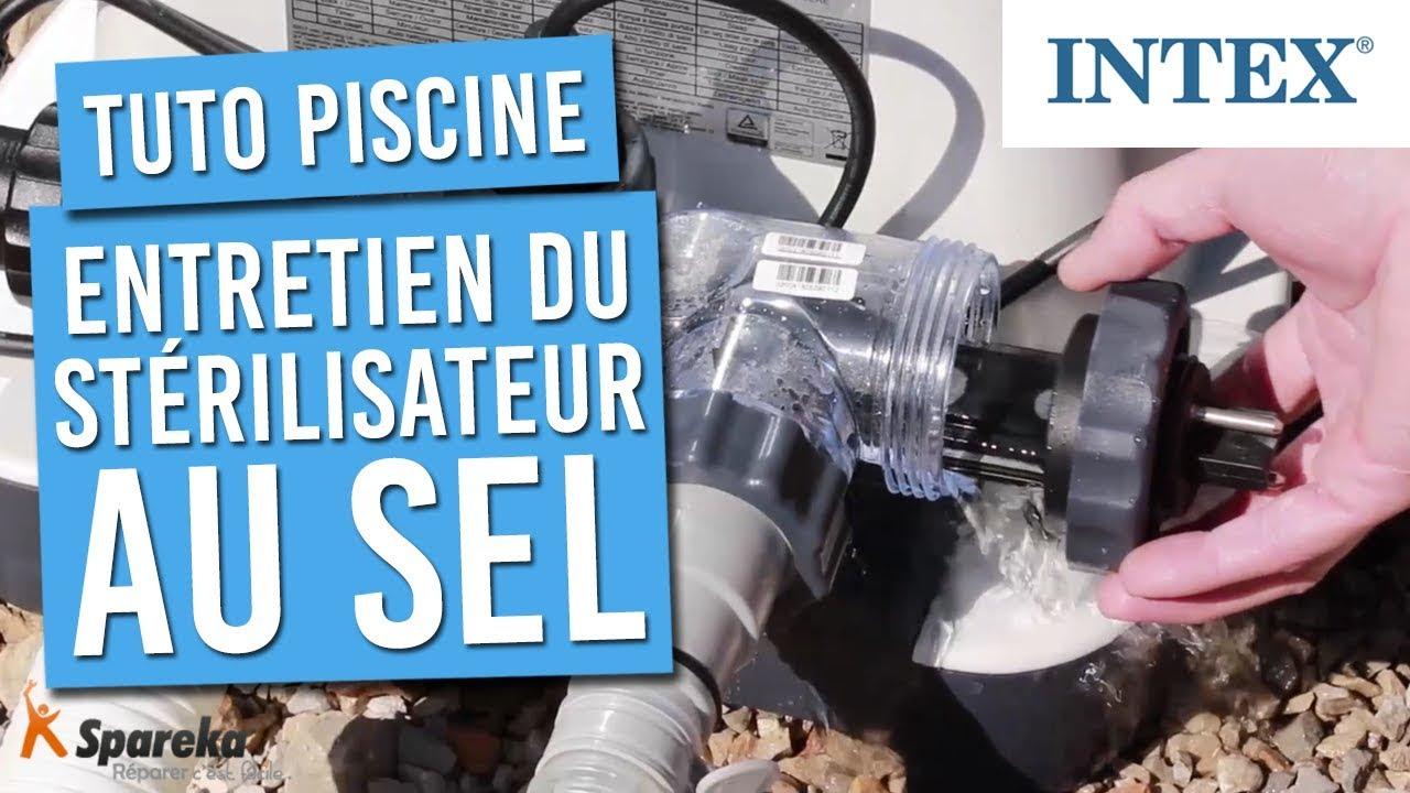 Nettoyer Filtre Spa Vinaigre Blanc tuto - comment faire l'entretien du stérilisateur au sel de votre piscine