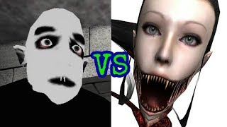 Slendrina X vs Eyes The Horror Game