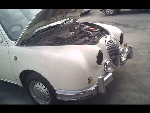 廃車の光岡自動車ビュート Mitsuoka Motor Viewt Scrap car