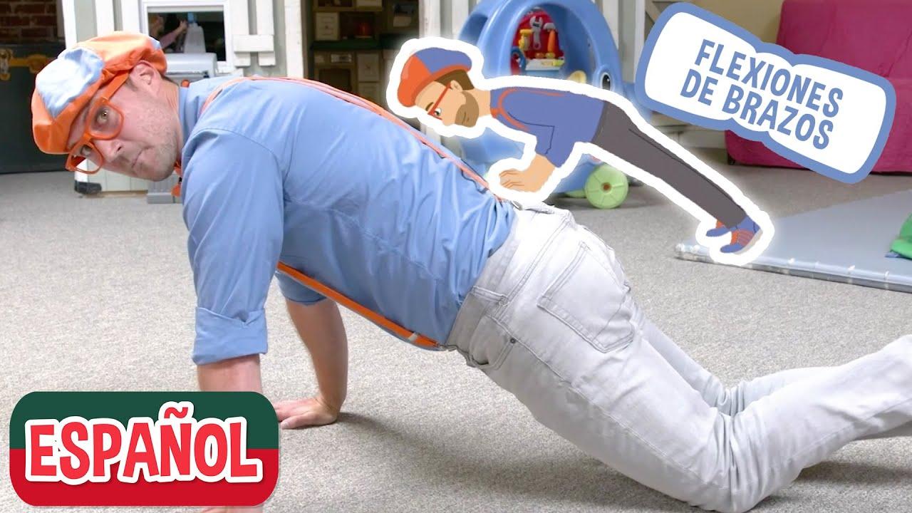 Aprende con Blippi en Amy's Playground | Videos educativos para niños pequeños con Blippi