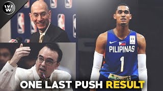Cayetano, Kinausap ang NBA para Payagan si JC | One Last Push Result