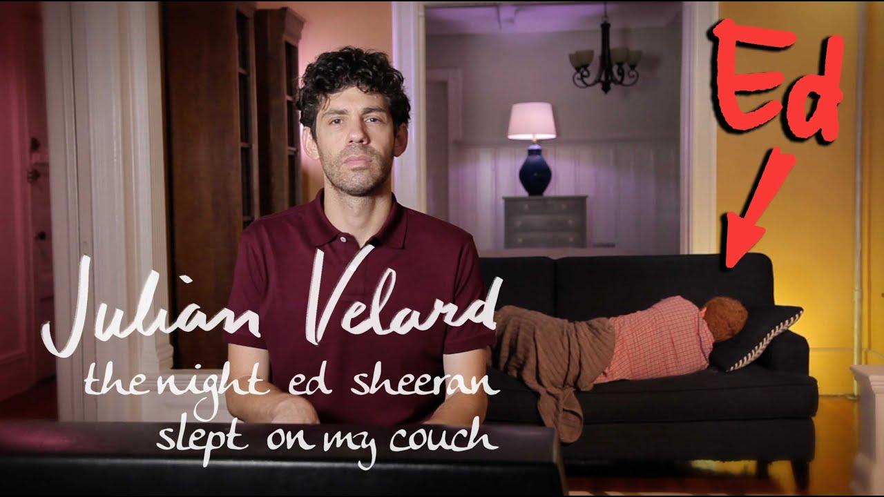 Julian velard ed sheeran |