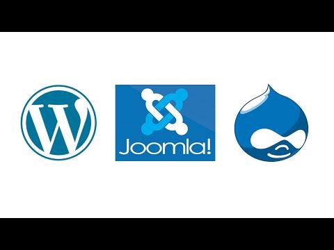 06 - CMS Comparison Wordpress Vs Drupal - updated 2016