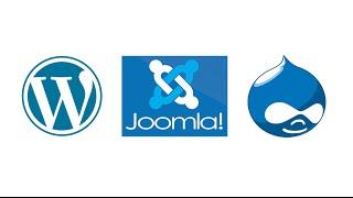 видео Drupal vs Joomla