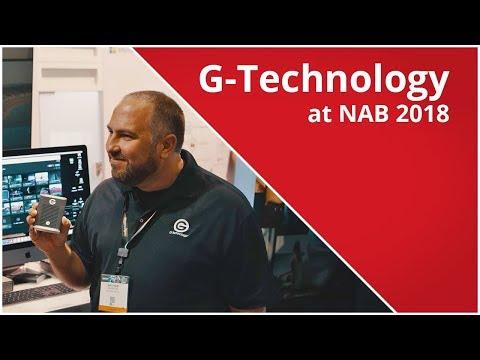 G-Technology SSDs at NAB 2018