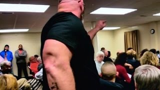 Town Hall Meeting Racist Rants Against Muslims on Video