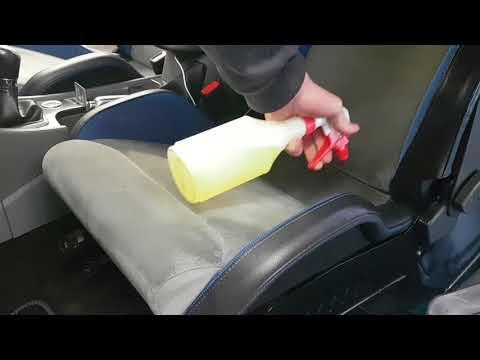 How to clean shampoo alcantara car seats, focus rs recaro