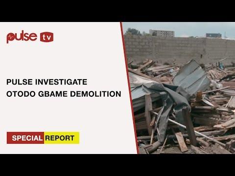 Otodo-Gbame community Demolition by Lagos State Government (pulse Investigates)    Pulse TV
