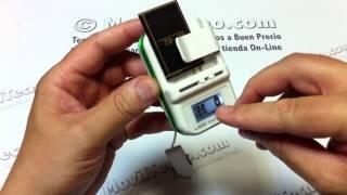 Cargador de baterias digital barato en MovilTecno.com