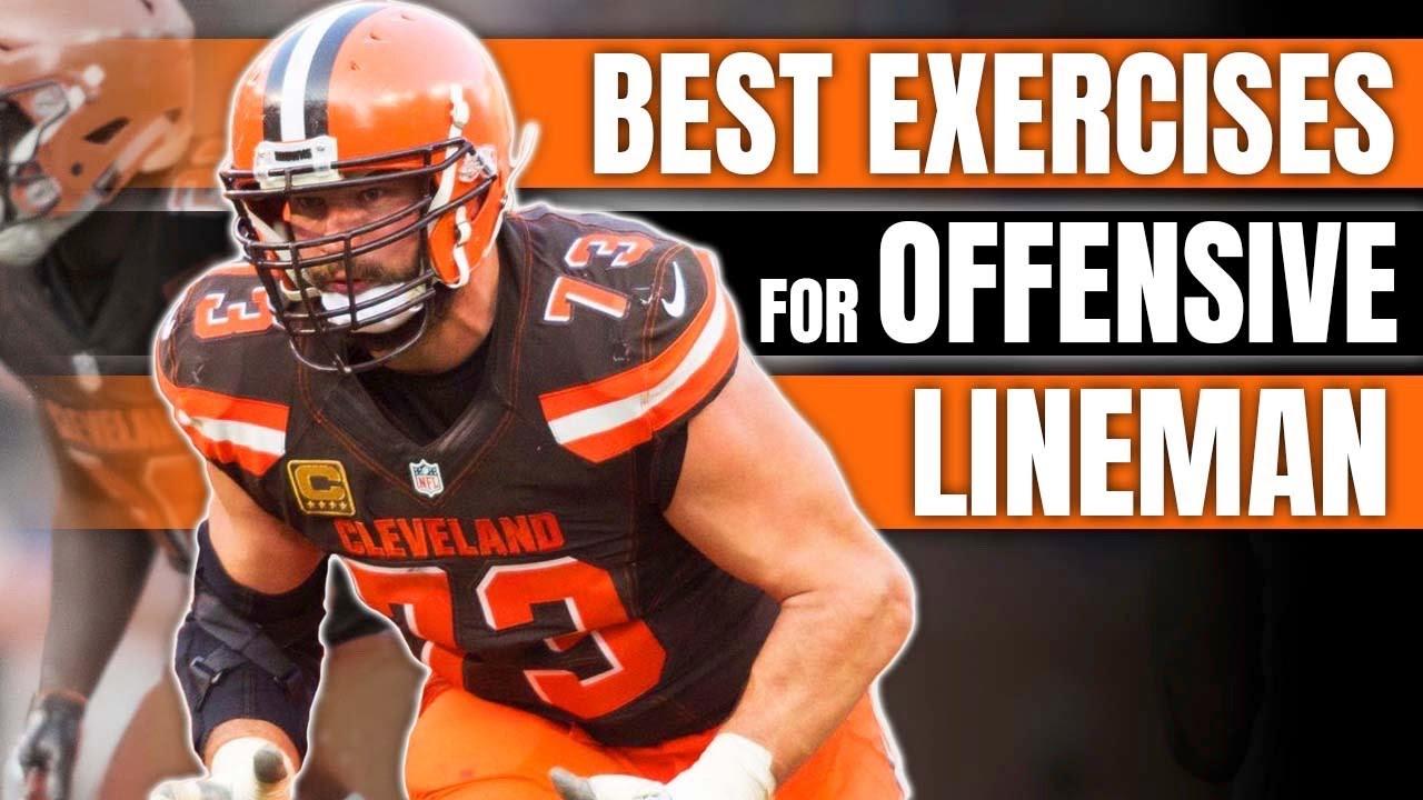 4 Best Football Strength Exercises For Offensive Lineman