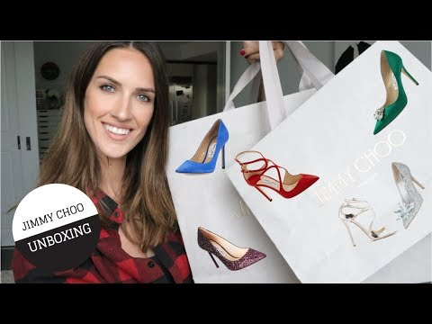 JIMMY CHOO Unboxing + WHY I Didn't Buy A Pair Of CHRISTIAN LOUBOUTINS