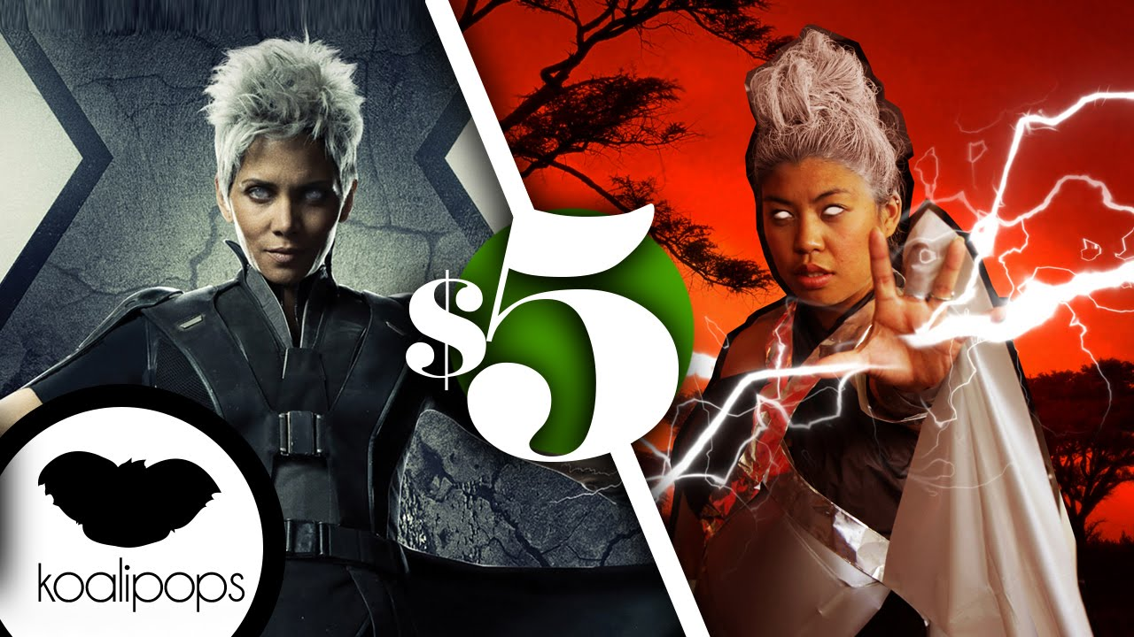 sc 1 st  YouTube & X-Men: Apocalypse: Storm | 5$ Costume | How To - YouTube