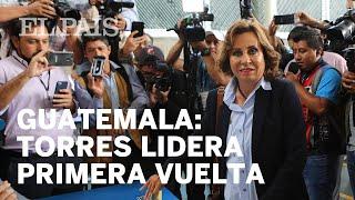 Sandra Torres se perfila como ganadora en Guatemala
