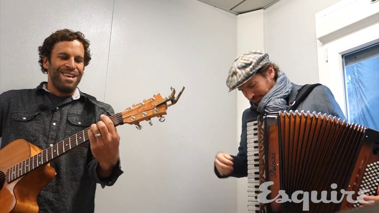 Jack Johnson and Zach Gill Rock The Beatles' 'Rocky Raccoon'