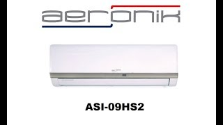 видео Сплит система Aeronik ASI-07HS4/ASO-07HS4