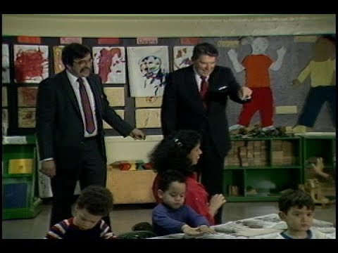 President Reagan's Visit To Hudson Day Care Center And Remarks To Jewish Leaders On April 5, 1984
