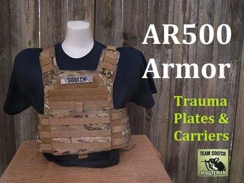 AR500 Body Armor - YouTube