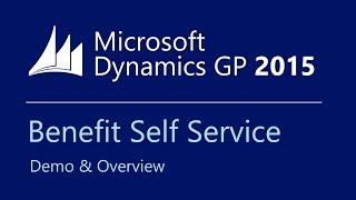 Microsoft Dynamics GP 2015 Benefit Self Service - Overview & Demo