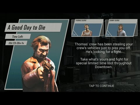 mafia 3 rivals timed event A good day to die