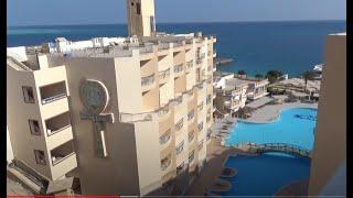 Египет 2021 Хургада февраль отель Сфинкс Кингтут вид с крыши где что есть Шаповаловы в Египте
