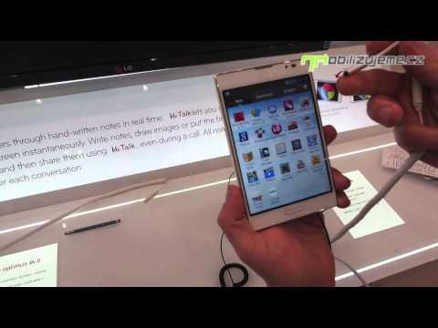 LG Optimus Vu II - první pohled z Barcelony (MWC 2013)