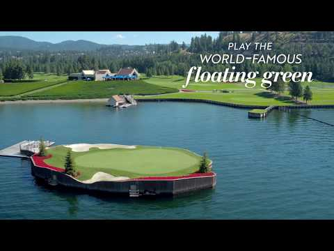 A Bucket List Experience Like No Other: The Floating Green on Lake Coeur d'Alene