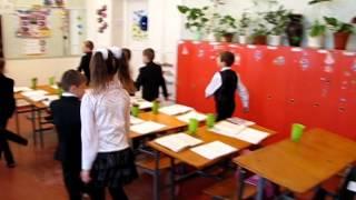 Фізкультурна  хвилинка на уроці 1А класу Томаківської загальноосвітньої  школи І ІІІ ст  № 1