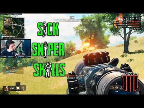 SICK SNIPER SKILLS | Call of Duty: Black Ops 4 - BLACKOUT #24