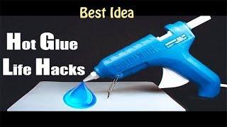 4 Amazing Glue Gun Life Hacks For Crafting | Hot Glue Gun Life Hacks| Life Hacks | Glue Gun Craft