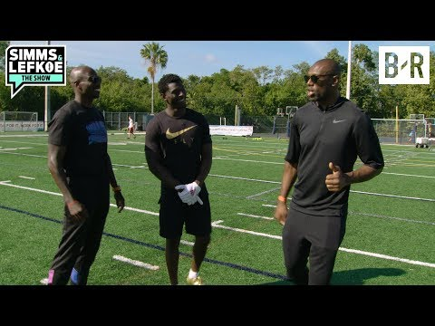 T.O., Chad Ochocinco Take Riley Ridley to WR School | Simms & Lefkoe: The Show