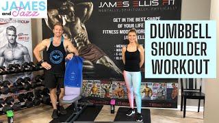 Dumbbell Shoulder Workout || Shoulder Workout Using Dumbbells || Tone Up || Build Muscle