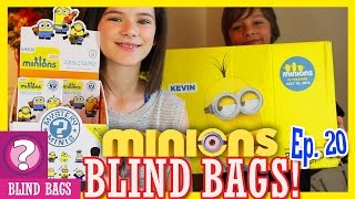 MINIONS BLIND BOXES!  Mystery Minis Vinyl Figures from Hot Topic!! |  KITTIESMAMA