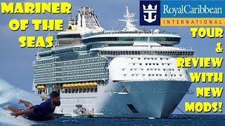 Royal Caribbean Mariner Of The Seas Full Ship Tour & Review Showing New $120 MILLION Modifications!