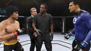 Bruce Lee vs. Mister Fantastic (EA Sports UFC 2) - CPU vs. CPU