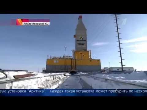 Первый в Арктике завод сжиженного природного газа возводят круглосуточно