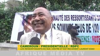 RDPC RESSORTISSANT DU SUD RECOIVENT LAURENT ESSO INTERIEW 2