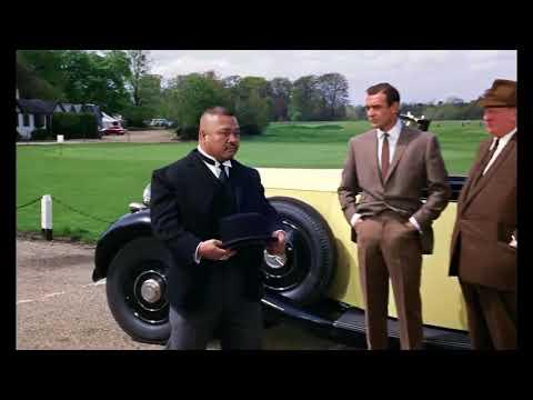 James Bond | Goldfinger 1964  - Oddjob's Hat ----  HD 1080p