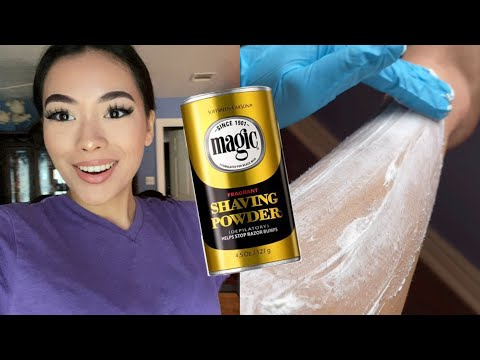 Tiktok Trend Magic Shaving Powder Review Results Youtube