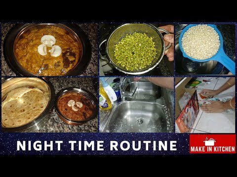 Night time routine in Tamil | Evening kitchen routine | Cooking and Cleaning preparation Tips