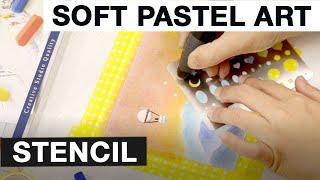 Faber-Castell: Soft Pastel Art Stencil Technique