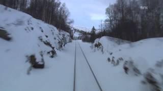�������� ���� Cab  Ride on Nordland line railway winter 03. ������